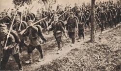 German-Troops-Marching-Through-Belgium-1914